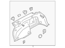 Genuine Subaru Quarter Trim Panel 94027AJ22AVH