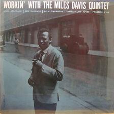 "Miles Davis w/ John Coltrane ""Workin'"" New Sealed OJC Lp"
