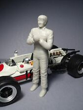 FIGURINE 1/20  DRIVER  PILOTE  FORMULE  1  VROOM  FIGURE  FOR  TAMIYA  LMM  1/20