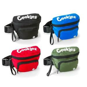 Cookies SF Environmental Nylon Smell Proof Odor Proof Fanny Pack - Choose Color