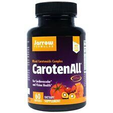 CarotenALL 60 Softgel Herz Augen Prostata Gesundheit Jarrow Formulas