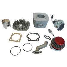 Motorized Bike 80cc Engine Rebuild Kit Cylinder Piston Carburetor Air Filter New