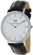 Daniel Wellington Men's York 0211DW Dark Brown Leather Quartz Fashion Watch
