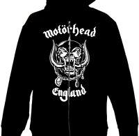 Motorhead - England Official Licensed Zip Up Hoodie