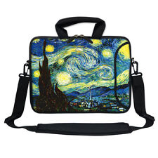 "13.3"" Neoprene Laptop Bag Case Sleeve w. Pocket Handle & Carrying Strap 3009"
