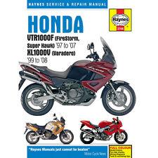 Honda VTR1000F Firestorn Super Hawk Varadero 1997-2008 Haynes Workshop Manual