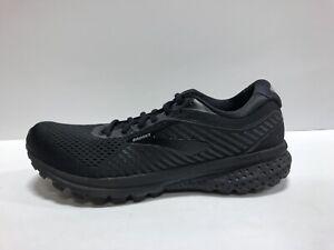Brooks Ghost 12, Womens Road Running Shoes-Black, US11 B.