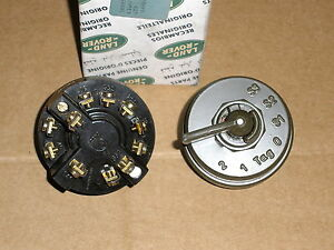 GENUINE LAND ROVER MILITARY LIGHT SWITCH ASSEMBLY PART NO 589951