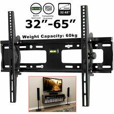 32-65 Inch TV Bracket Tilt TV Wall Mount Bracket with Built-In Tri Spirit Level.