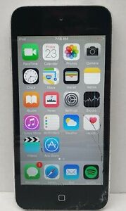 Apple Ipod Touch 5th Gen A1509 16GB SOLD AS IS/ Crack screen/ Activation locked