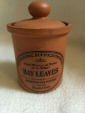 HENRY WATSON The Original Suffolk Canister Spice and Herb Jar BAY LEAVES