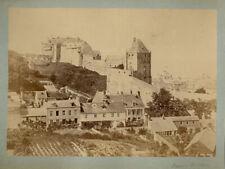 Photo Albuminé Normandie Dieppe Architecture Vers 1860/70