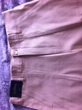 Next Trousers Size 14 R New Tailoring Wide Leg Camel Beige