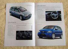 Vauxhall Zafira A Range, 2003 Models No1 inc, Club, Comfort, Elegance, GSi