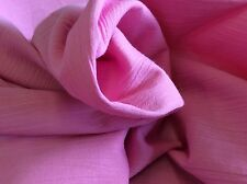 HOT PINK CRINKLE BY FABRIC FINDERS 60 INCHES WIDE-- BY THE YARD