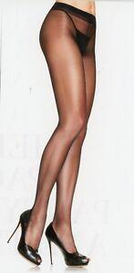 Leg Avenue Women Pantyhose Sheer to Waist Spandex Reg Black Nude Honey Bge 0907
