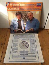 DECCA SXDL 7546 TIPPETT SYMPH 4 LP SPLTI  DIG (1981) PRINCE CHARLES SUITE