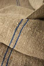Antique Heavy Nubby Slubby thistle cloth hemp Primitive fabric 2.5X23wide