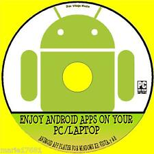 USE YOUR BEST ANDROID APP'S ON ANY WINDOWS PC, ANDROID PLAYER SYSTEM CD ROM NEW