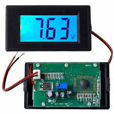 Blue LCD Digital Electric Voltage Volt Meter Voltmeter Measurement Panel 20V