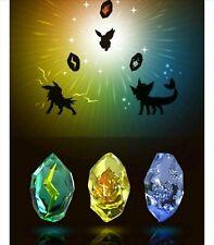 Pokemon Evolution Stone Candy Box Set fire Water Lightning Premium Bandai Japan