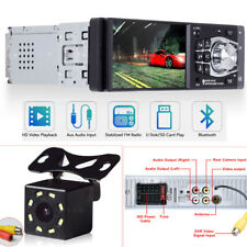 "4.1"" Car Stereo Radio MP5 MP3 Player Bluetooth USB FM Audio HD Camera FM In Dash"