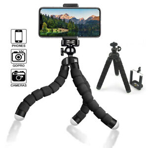 Mini Tripod Flexible Octopus Small Holder Stand Mount for GoPro iPhone Samsung