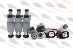 *Best Upgrade* Fuel Injector Set - 4 Nozzle Tip KA24E Stanza Axxes 240SX 2.4L