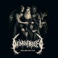 DEMONBREED - WHERE GODS COME TO DIE (BLACK VINYL)   VINYL LP NEU