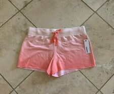 NWT Women's Sonoma Pink Ombre Dipdye Cotton Blend Shorts Size M
