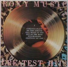 ROXY MUSIC – Greatest Hits (2302 073 A1/B2) Vinyl LP Album; UK 1977 - EX/EX