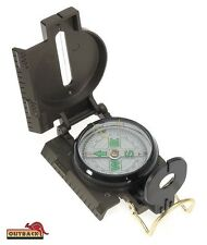 Outback MILITARY LENSATIC Ranger Compass with side Ruler