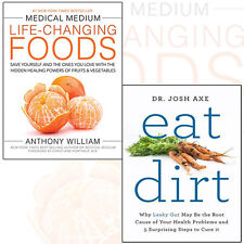 Medical Medium Life-Changing Foods 2 Books Collection Set (Eat Dirt) Brand New