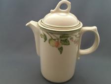 "Wedgwood Wild Apple O.T.T 6 3/8"" Granada Shape 2 Pint Coffee Pot"