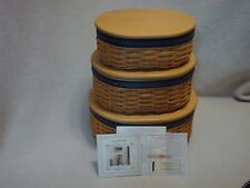 Set Of 3 Longaberger Collectors Club Harmony Baskets