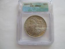 1882-CC , Morgan Dollar , MS 63 , ICG Certified