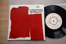 LE QUINTETTE DU HOT-CLUB DE FRANCE rare 7'' single Supraphon SUK 35615