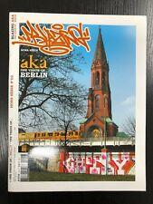 BLAZING AKA MAGAZINE 2 ONE VISION OF BERLIN GRAFFITI WRITING BACKJUMPS OVERKILL