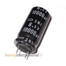 10000uF 6.3V 85°C CAPACITORS Electrolytic Nippon Chemicon - AUS STOCK