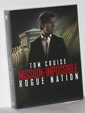 MISSION: IMPOSSIBLE Rouge Nation MI5 FullSlip STEELBOOK Lenticular Filmarena NEU