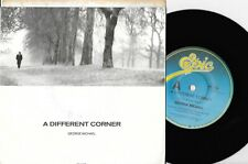 "GEORGE MICHAEL - A DIFFERENT CORNER - 7"" 45 VINYL RECORD w PICT SLV - 1986"