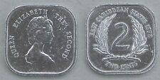 Ostkaribische Staaten / East Caribbean States 2 Cents 1998 p11 unz.