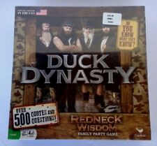 New Duck Dynasty 'Redneck Wisdom' Family Party Game Over 500 Quotes & Questions