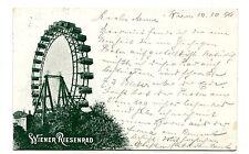 Vintage Postcard VIENNA Austria Wiener Riesenrad FERRIS WHEEL 1899 UDB