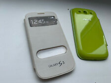 For Samsung Galaxy S3 i9300 Design Rubberized Snap-On Hard Case Phone Cover 2pc