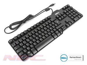 Dell Wired Slim USB FRENCH AZERTY Keyboard 0DJ315