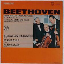 BEETHOVEN: Trio Piano, Violin, Cello HORSZOWSKI, VEGH, CASALS Philips LP NM