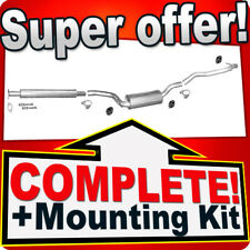 Ford Focus C-Max 2.0 TDCI TD for cars without DPF Silencer Exhaust System 713