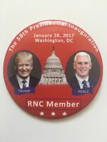 "2017 President Donald Trump Inauguration Day 3"" Button RNC Member Winter Meeting"