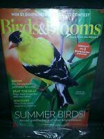Birds & Blooms Magazine Summer Birds American Goldfinch August September 2019